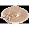 Straw Beach Sun Hat - Hat -