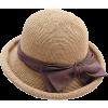 Straw Bucket Hat - Hat -