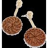 Straw Earrings - Ohrringe -