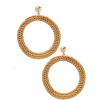 Straw Earrings - Uhani -