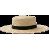 Straw Hat - Eyeglasses -