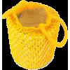 Straw Netted Bucket Bag  SENSI STUDIO br - Carteras -