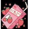 Strawberry milk - Bebidas -