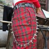 Street punk spiked style pants chain - Belt - $17.99
