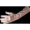 Stretch Satin Dress Gloves Forearm Length - Guantes - $9.99  ~ 8.58€