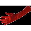 Stretch Satin Dress Gloves Forearm Length - Gloves - $9.99
