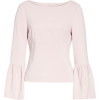 Stretch Suiting Bell Sleeve Top TIBI - Long sleeves shirts -