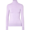 Stretch cotton-blend turtleneck sweater - Jerseys -