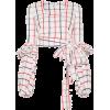 Striped Blouse - 长袖衫/女式衬衫 -