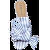 Striped Flat Sandal - Flats -