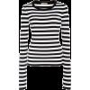 Striped Jersey Sweater - Majice - duge -