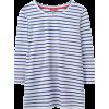 Striped Lightweight Womens Jersey Top - Maglie -