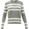 Striped cashmere-blend sweater £329 - Jerseys -