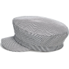 Striped nautical cap - Cap - £15.99  ~ $21.04