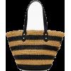 Striped straw market tote - Bolsas de tiro - 476,74kn  ~ 64.46€