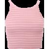 Stripe narrow shoulder wool vest - Maglie - $19.99  ~ 17.17€