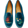 Stubbs and wootton velvet flats - Balerinke -