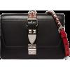 Studded leather shoulder bag - Hand bag -