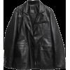 Stylenanda Leather Jacket - Jakne in plašči -