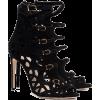 Suede Sandals - Sandale -