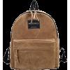 Suede Backpack - Nahrbtniki -