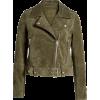 Suede Moto Jacket BLANKNYC - アウター -
