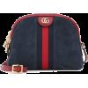 Suede Shoulder Bag - Gucci - Messenger bags -