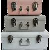 Sueryder pastel storage trunks - Mobília -