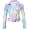 Sugarpills Clothing Ombre Moto Jacket - Jacket - coats -