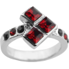Suicide Squad Ring Quinn Poker Shape - Anelli -