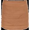 Suknja Brown Skirts - Skirts -