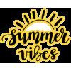 Summer Vibes - Teksty -