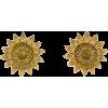 Sunflower Earrings - Earrings -
