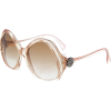 Sunglasses Beige - Sunglasses -