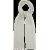 Superfine floral-print cashmere scarf £1 - Scarf -