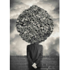 Surreal photo face - Background -
