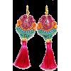 Sutaszowe kolczyki earrings - Brincos -