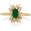 Suzanne Kalan Gold Emerald And Diamond - Anillos - $2.20  ~ 1.89€