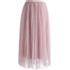 Swan Cloud Maxi Skirt in Rouge Pink pink - Saias -