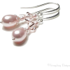 Swarovski Rose Chiffon Earrings - Earrings -