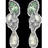 Swarovski Green Earrings - Earrings -