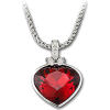 Swarovski Red Heart Pendant - Pendants -