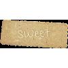 Sweet - Texts -