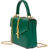 Gucci Sylvie 1969 patent leather mini - Carteras -