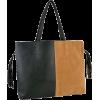 TAIGI Dualtone Suede Tassels Oversized Office Tote Shopper Hobo Double Strap Shoulder Bag Handbag Satchel w/Interior Detachable Pouch Beige - Carteras - $23.50  ~ 20.18€