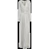 TALBOT RUNHOF Wrap-effect metallic textu - Dresses -