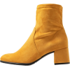 TAMARIS ankle suede boot - 靴子 -