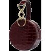 TARA ZADEH Azar mock croc bracelet bag - Kleine Taschen -