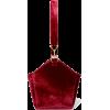 TARA ZEDEH velvet bag - Borsette -