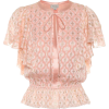 TEMPERLEY LONDON Suki silk blend blouse - Shirts -
